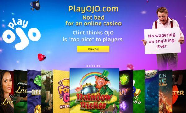 Play OJO No Wager Large Image