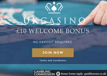 uk casino no deposit bonus