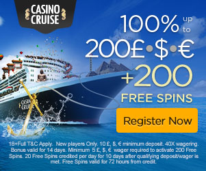 casinocruise free spins no deposit