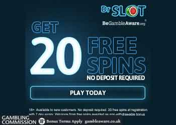dr slot 20 no deposit free spins