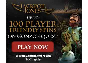 jackpot jones no wager free spins bonus